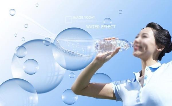 喝水的好处海报